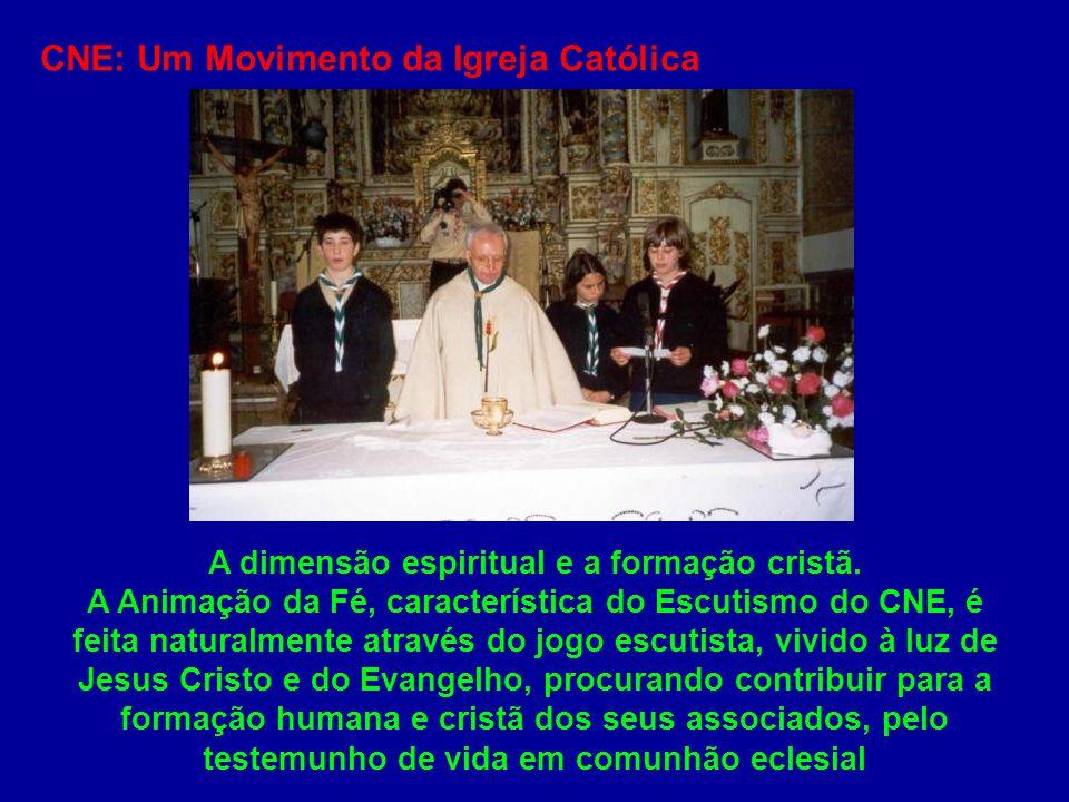 A dimensão espiritual e a formação cristã.