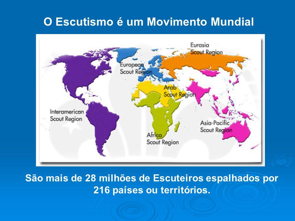 O Escutismo é um Movimento Mundial