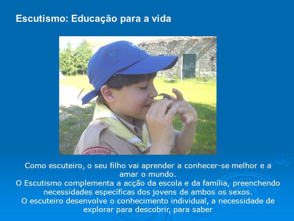 Escutismo: Educação para a vida
