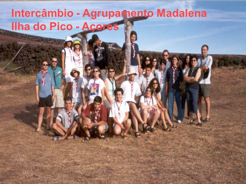 Intercâmbio - Agrupamento Madalena