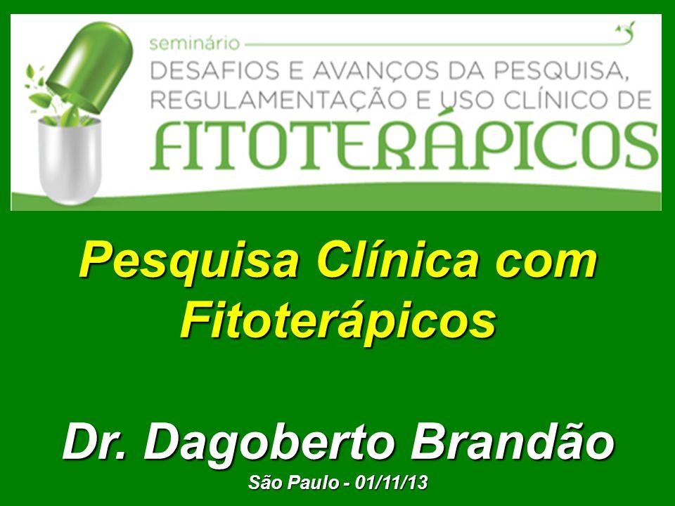 Pesquisa Clínica com Fitoterápicos