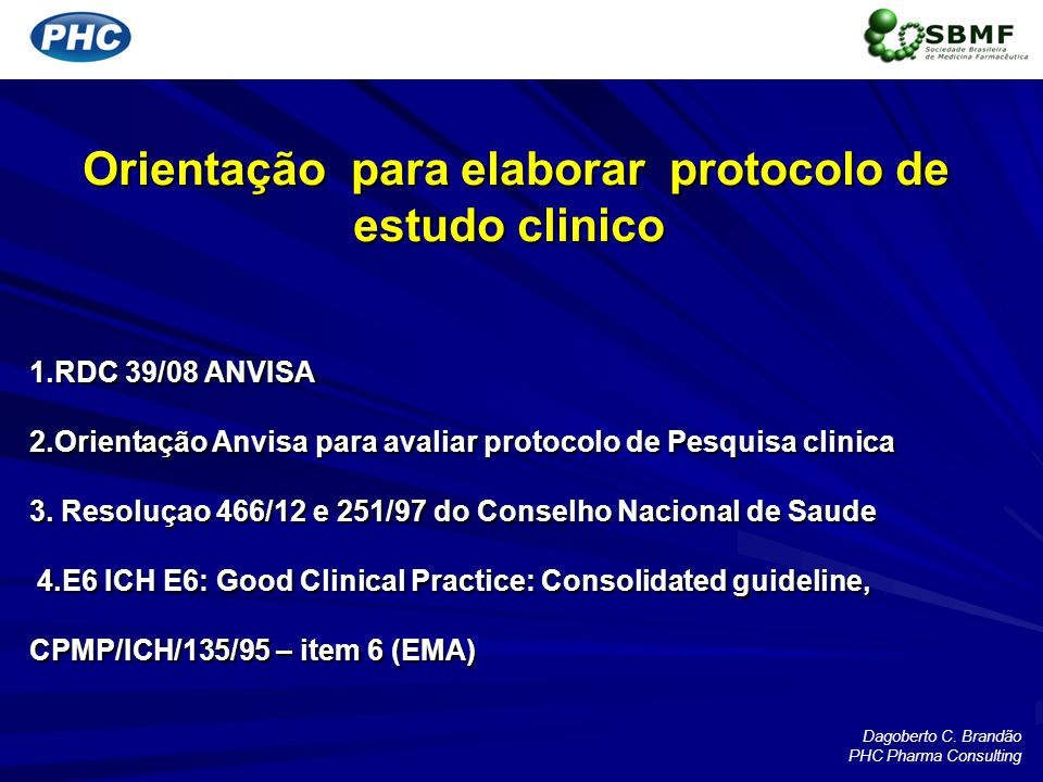 Orientação para elaborar protocolo de estudo clinico