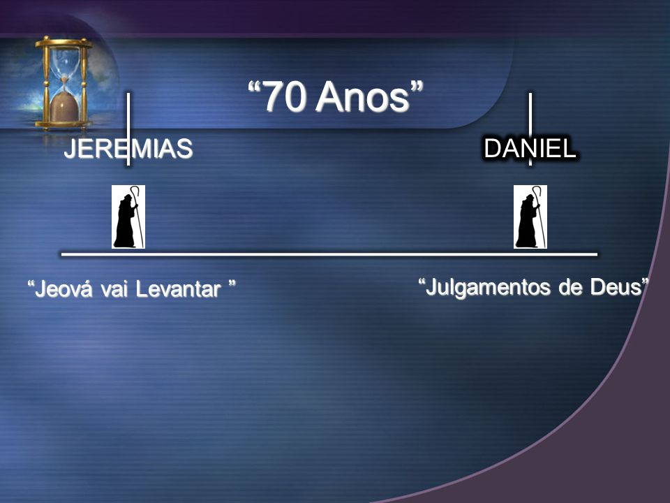 70 Anos JEREMIAS DANIEL Jeová vai Levantar Julgamentos de Deus