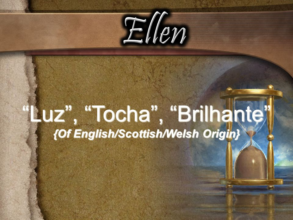 {Of English/Scottish/Welsh Origin}