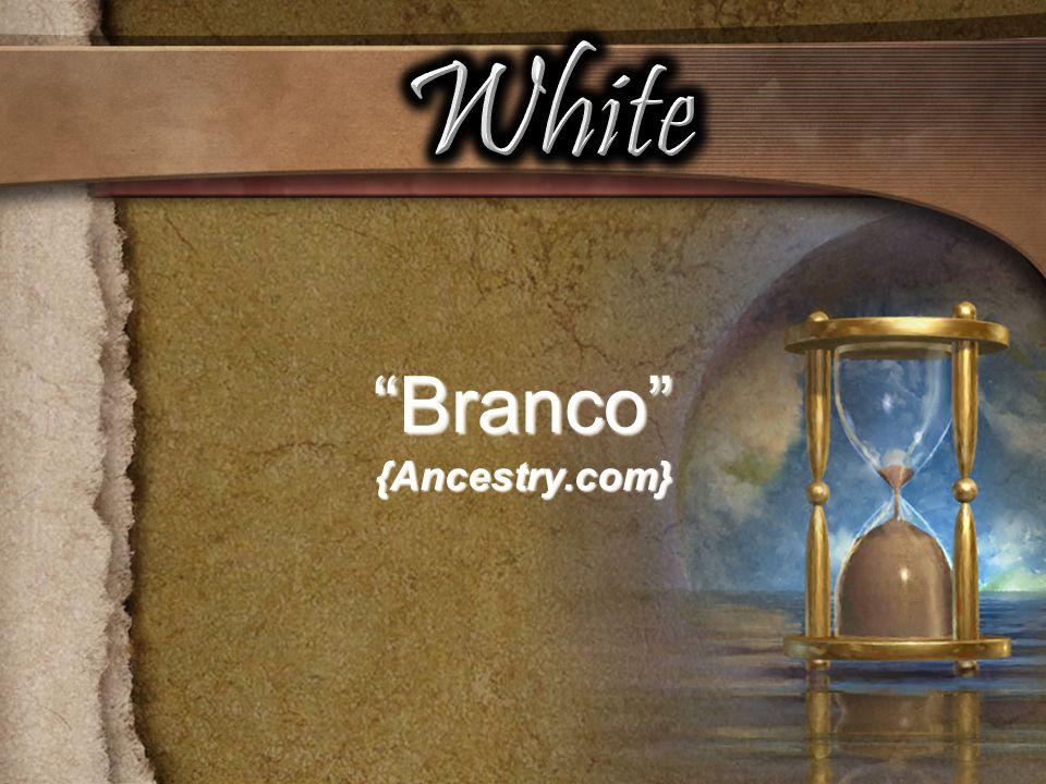 White Branco {Ancestry.com}