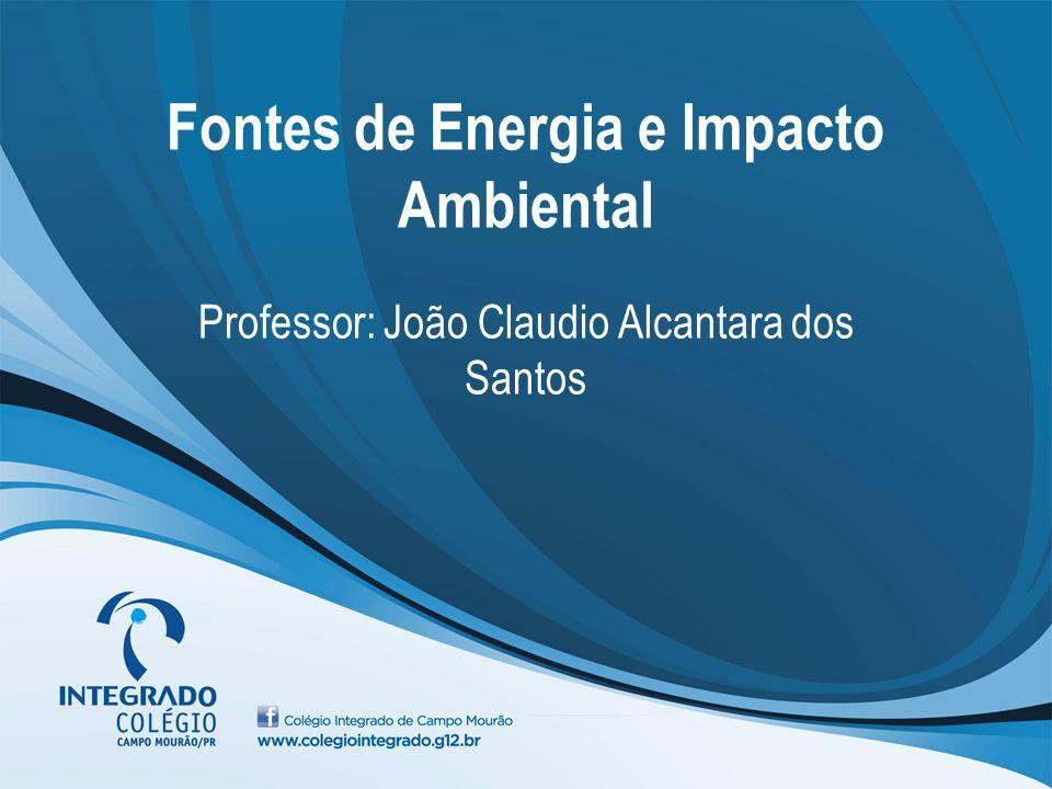 Fontes de Energia e Impacto Ambiental