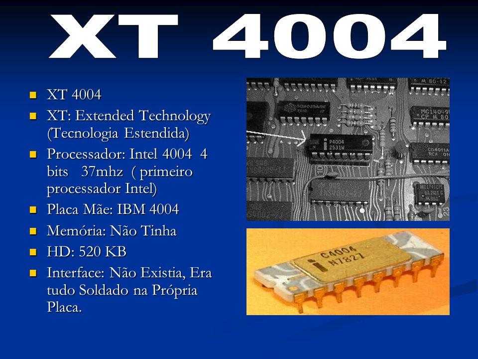 XT 4004 XT 4004 XT: Extended Technology (Tecnologia Estendida)