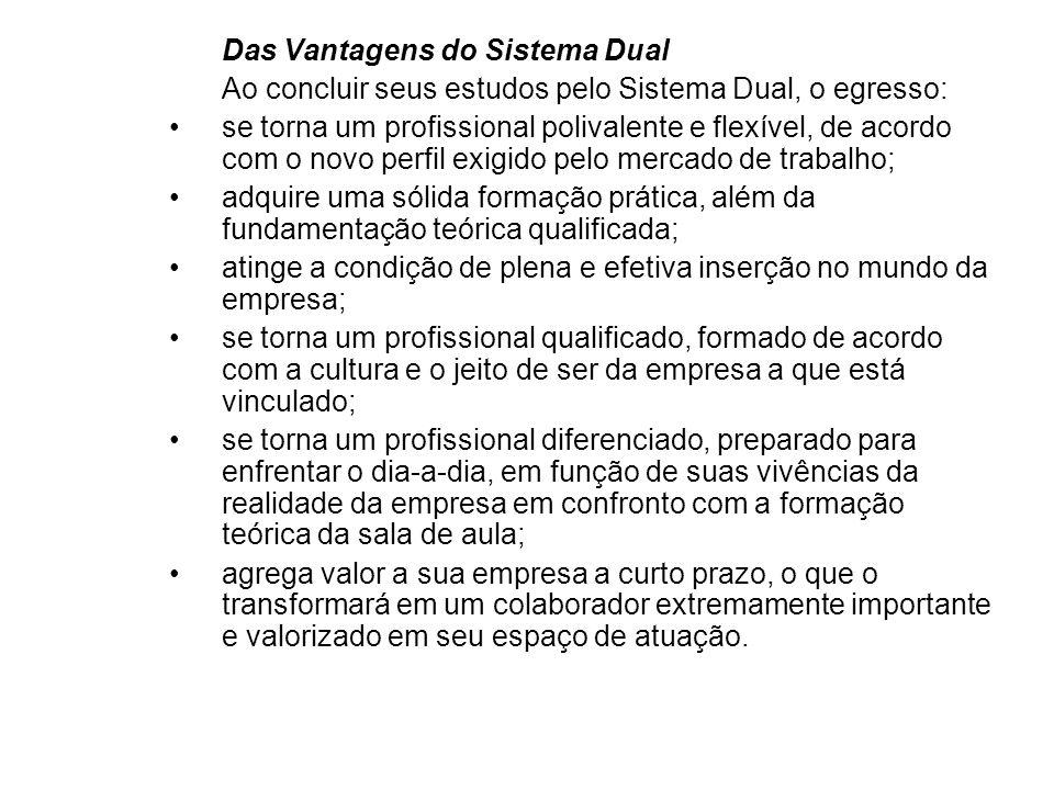 Das Vantagens do Sistema Dual