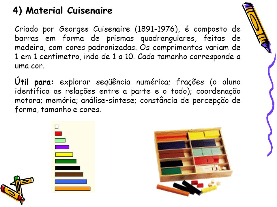 4) Material Cuisenaire