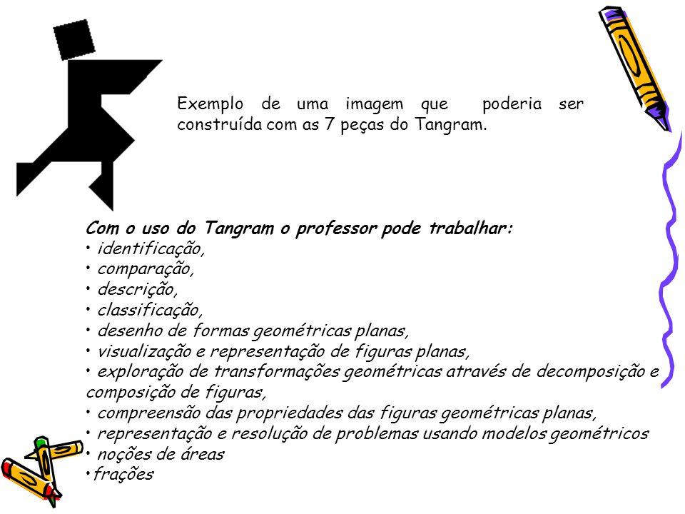 Exemplo de uma imagem que poderia ser construída com as 7 peças do Tangram.
