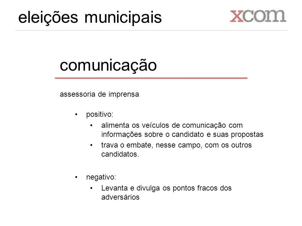 eleições municipais comunicação assessoria de imprensa positivo: