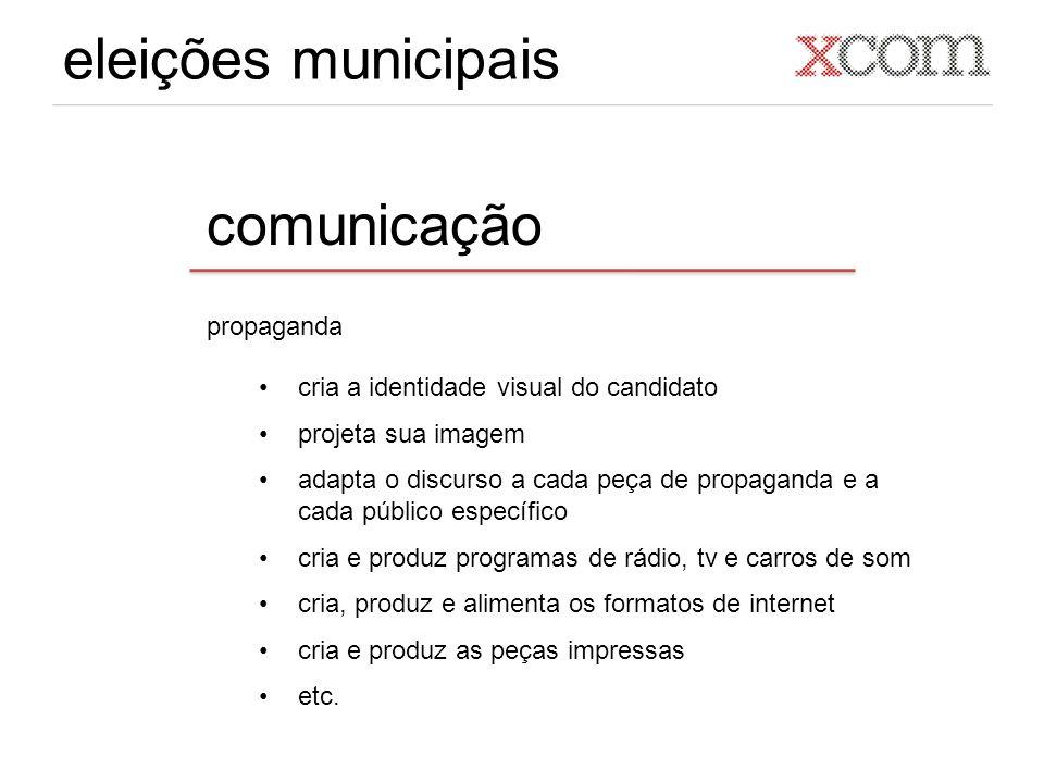 eleições municipais comunicação propaganda