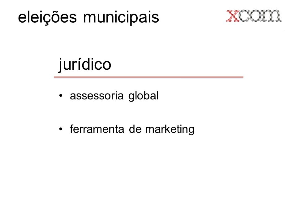 eleições municipais jurídico assessoria global ferramenta de marketing