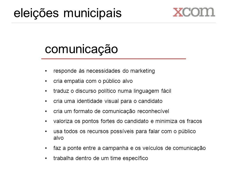 eleições municipais comunicação responde às necessidades do marketing