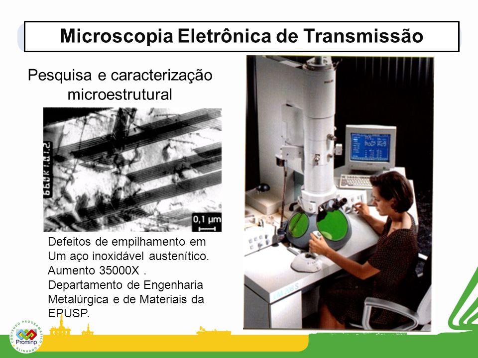 Microscopia Eletrônica de Transmissão