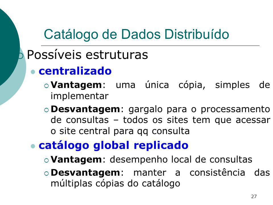 Catálogo de Dados Distribuído