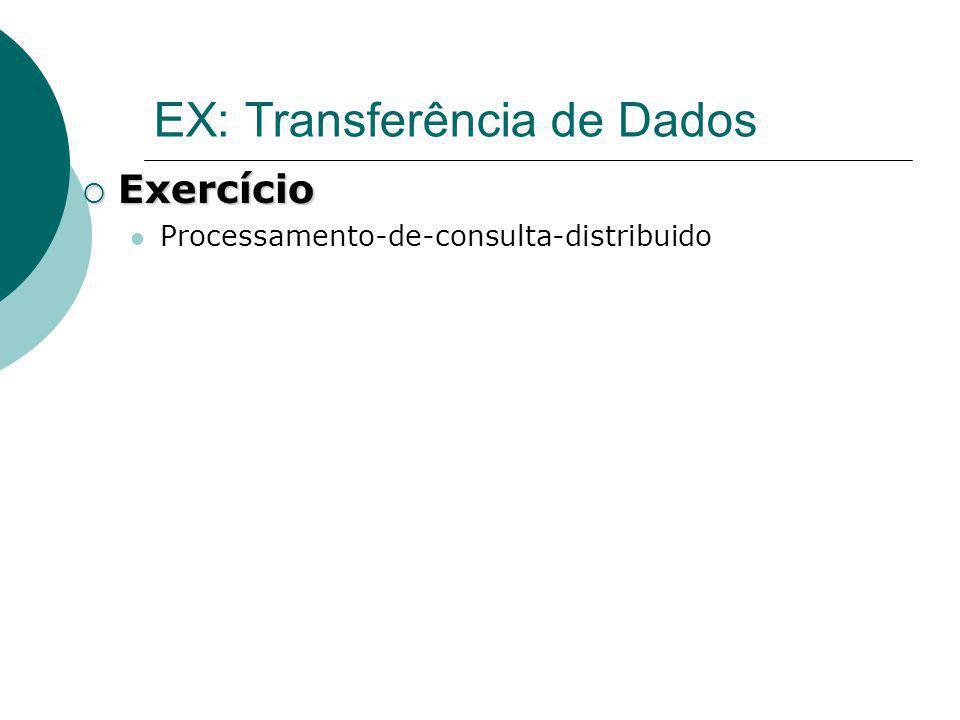 EX: Transferência de Dados