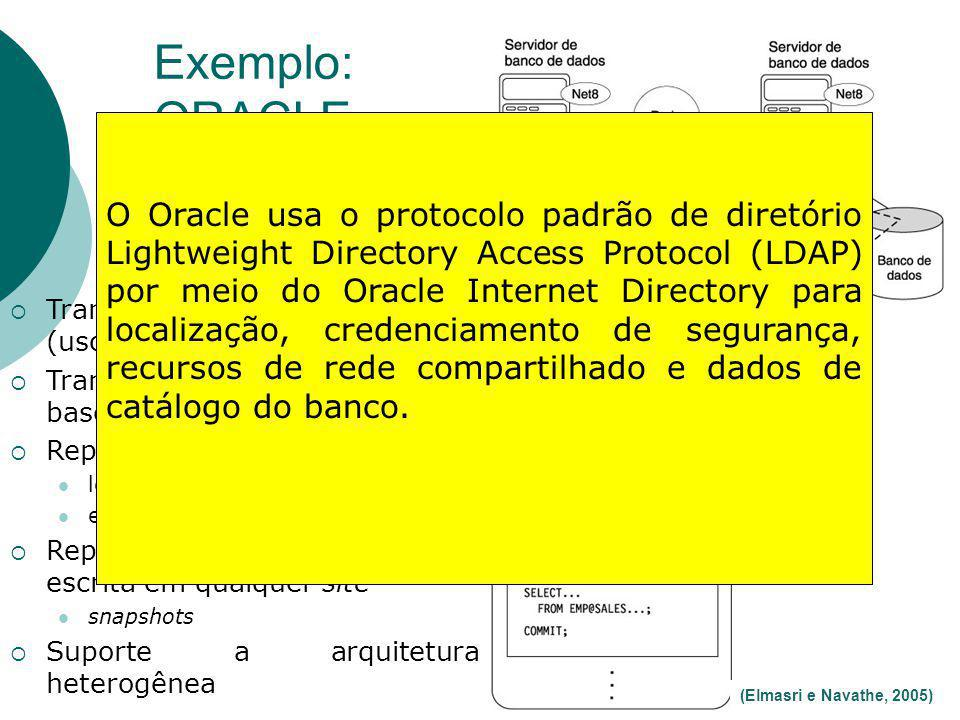 Exemplo: ORACLE