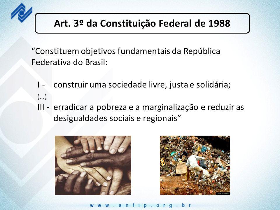 Art. 3º da Constituição Federal de 1988
