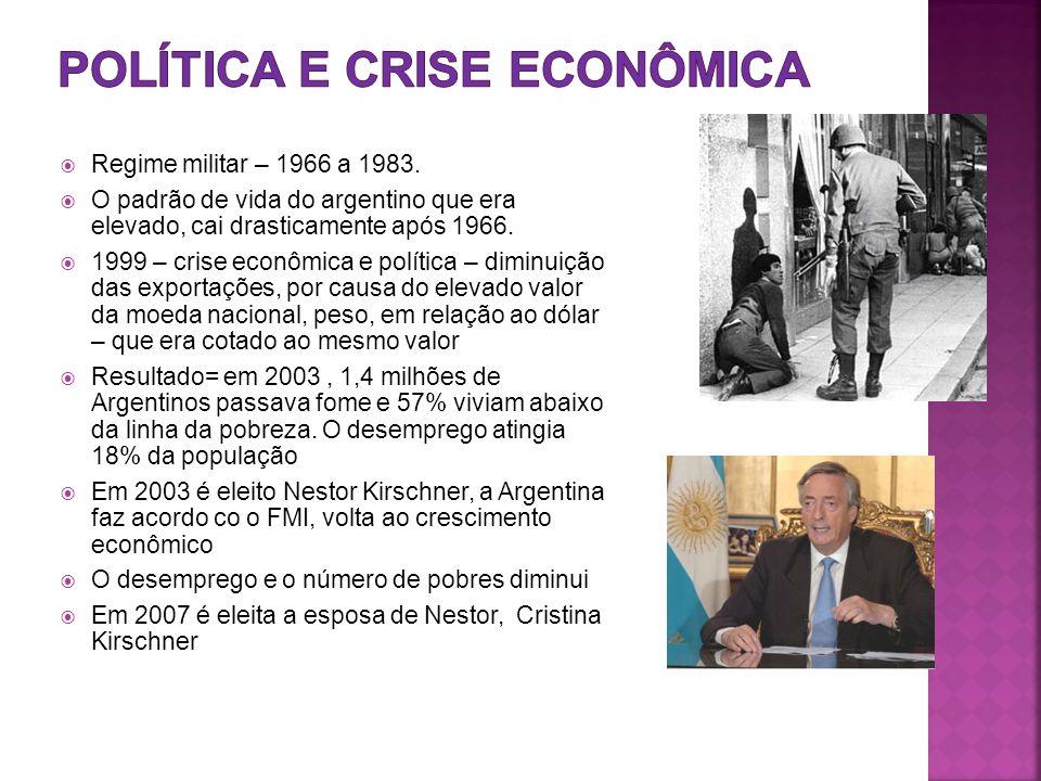 Política e crise econômica
