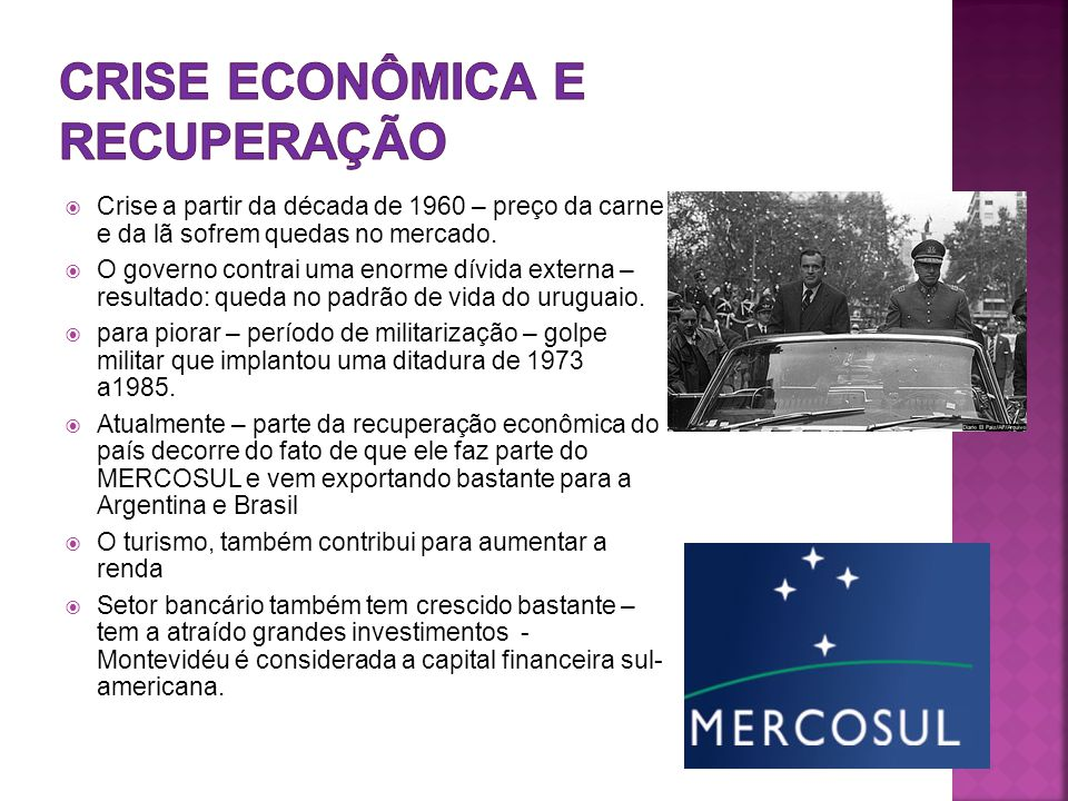 Crise econômica e recuperação