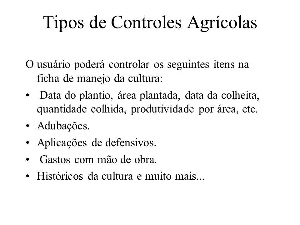 Tipos de Controles Agrícolas