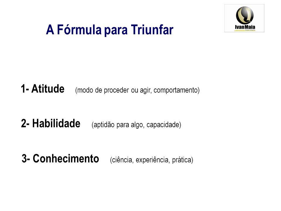 A Fórmula para Triunfar