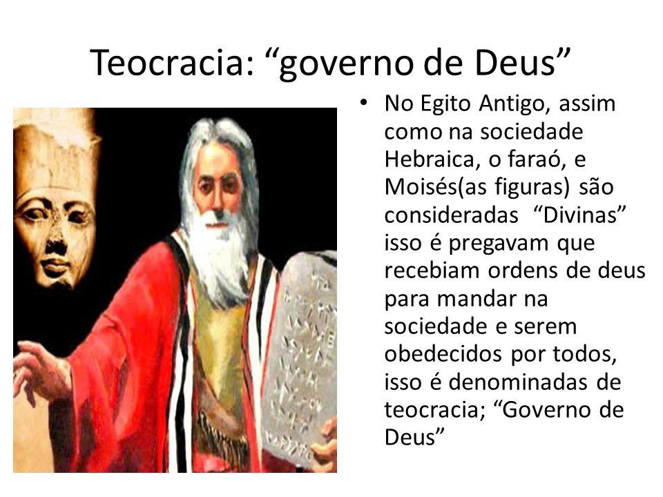 Teocracia: governo de Deus