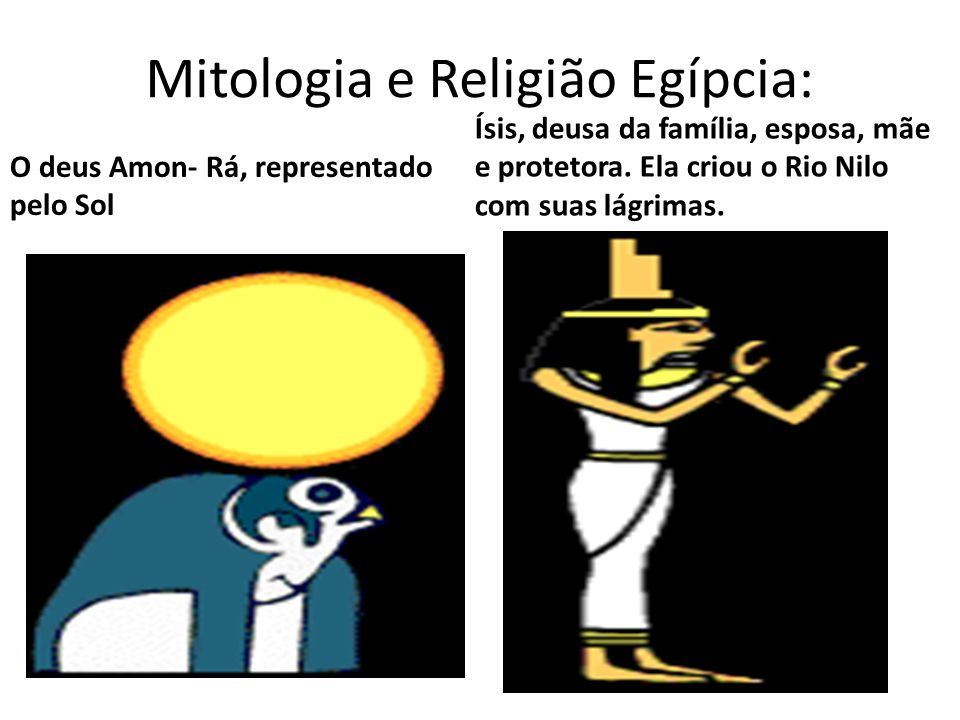 Mitologia e Religião Egípcia: