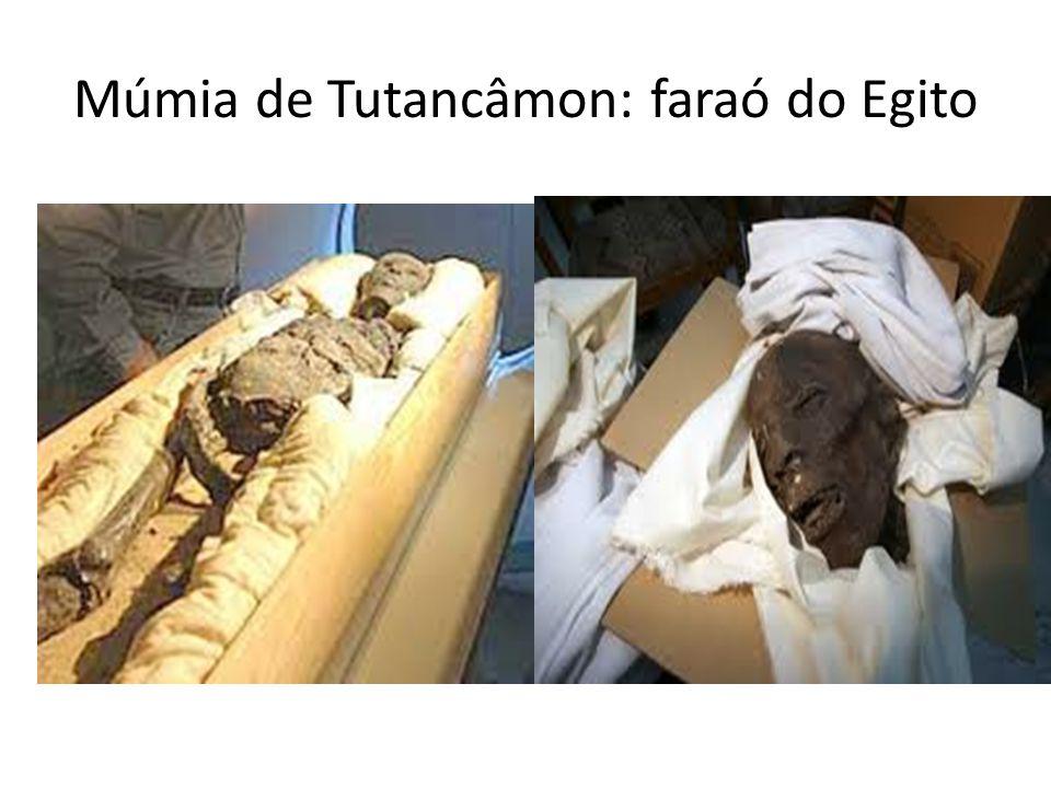 Múmia de Tutancâmon: faraó do Egito