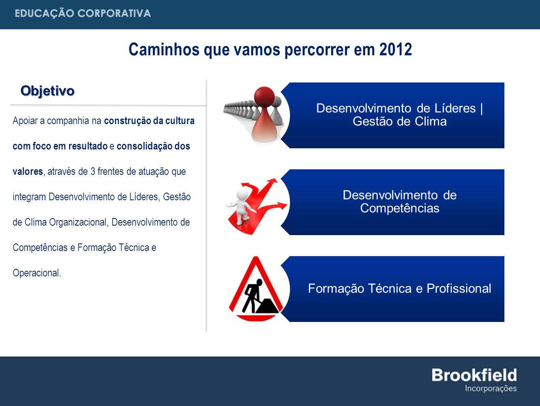 Caminhos que vamos percorrer em 2012