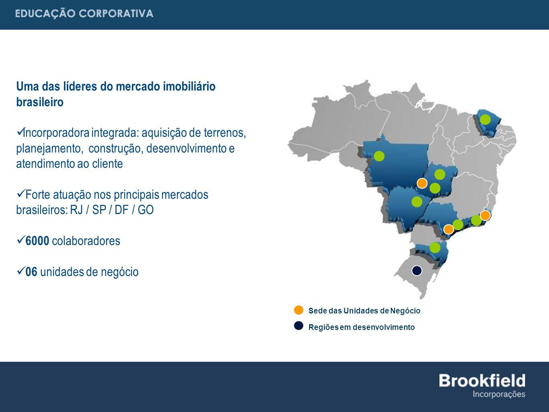Uma das líderes do mercado imobiliário brasileiro