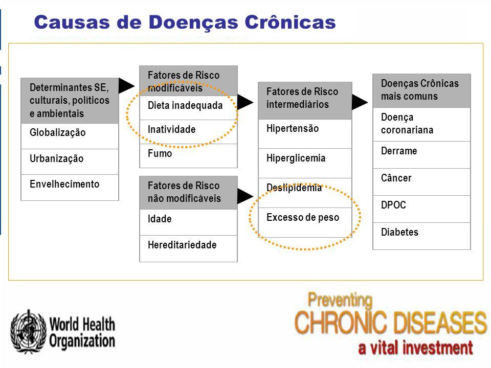 Causas de Doenças Crônicas