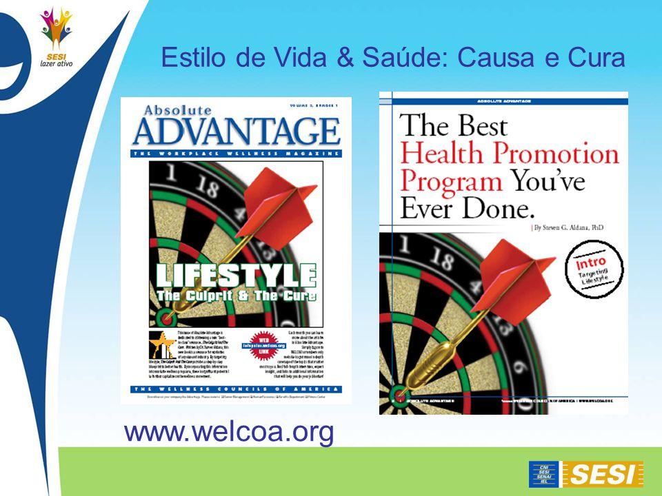 Estilo de Vida & Saúde: Causa e Cura