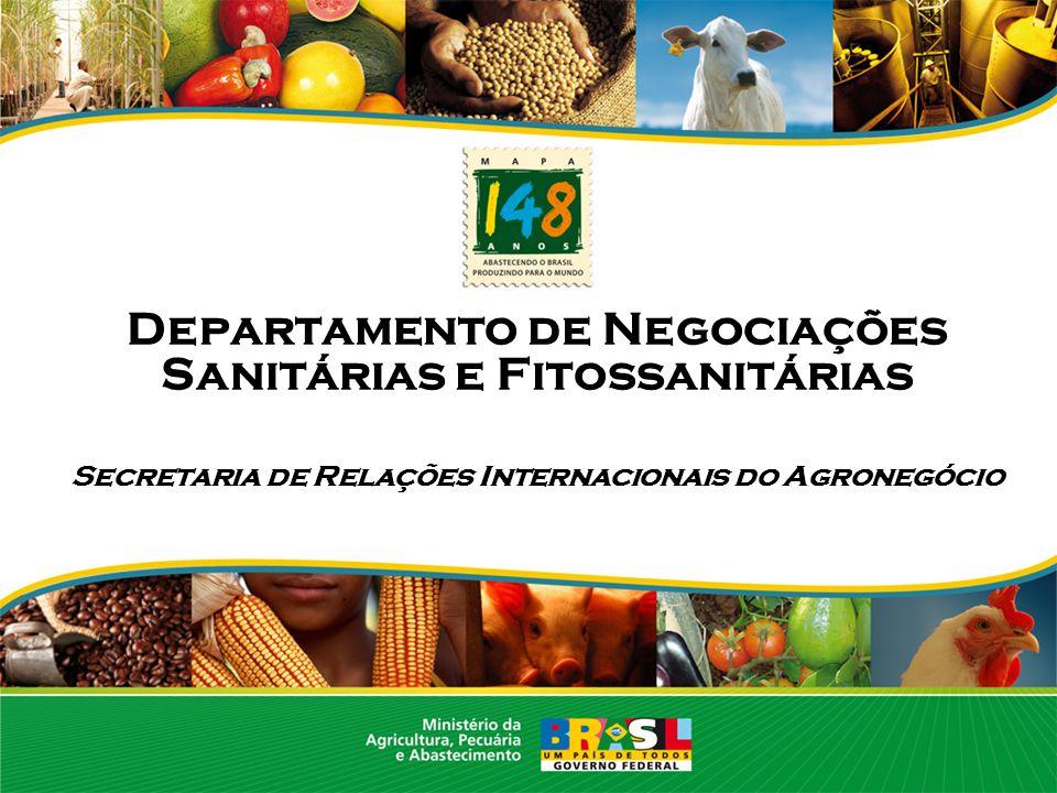 Departamento de Negociações Sanitárias e Fitossanitárias