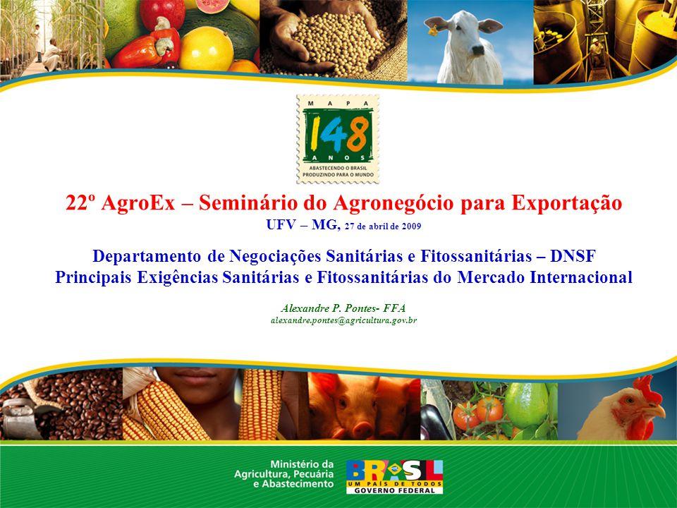22º AgroEx – Seminário do Agronegócio para Exportação