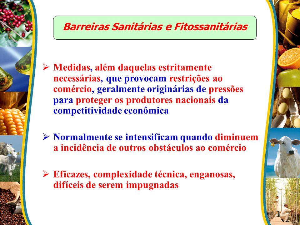 Barreiras Sanitárias e Fitossanitárias