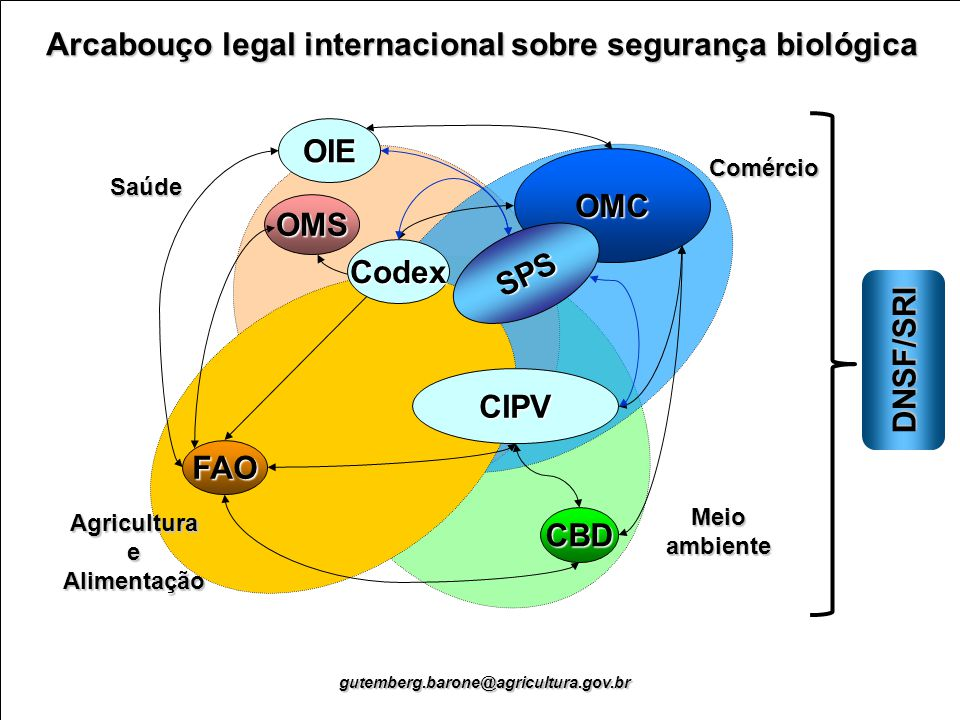 Arcabouço legal internacional sobre segurança biológica