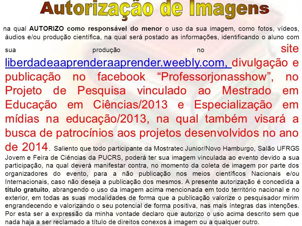 Autorização de Imagens