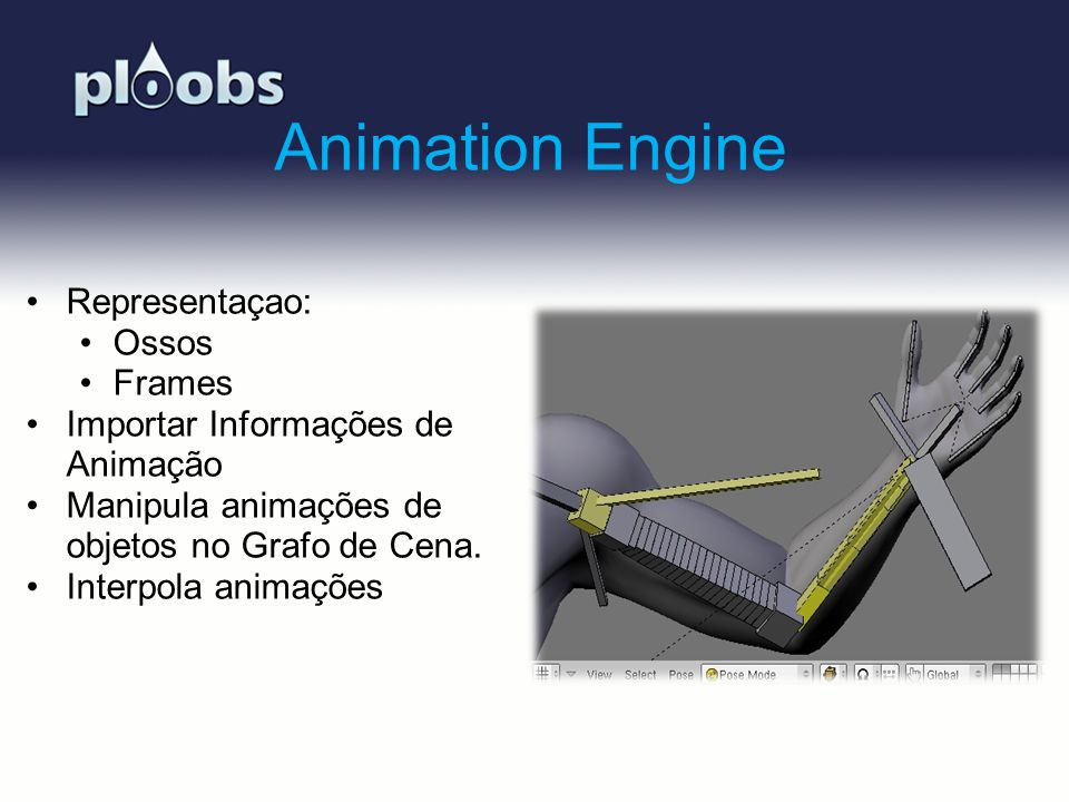 Animation Engine Representaçao: Ossos Frames