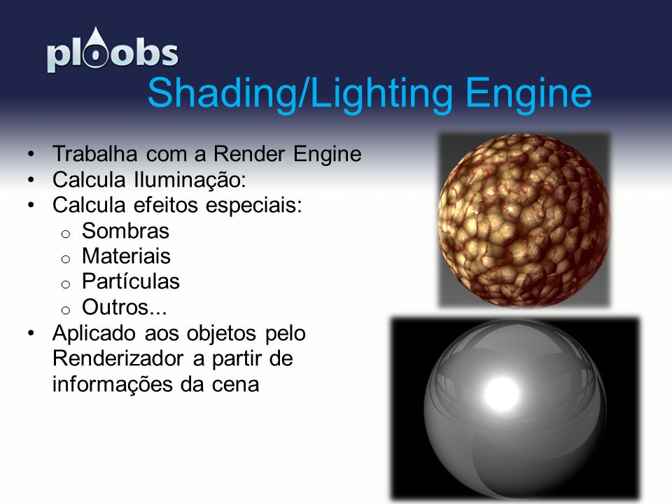 Shading/Lighting Engine