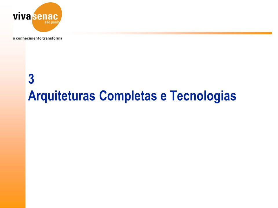 3 Arquiteturas Completas e Tecnologias
