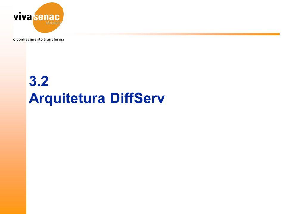 3.2 Arquitetura DiffServ
