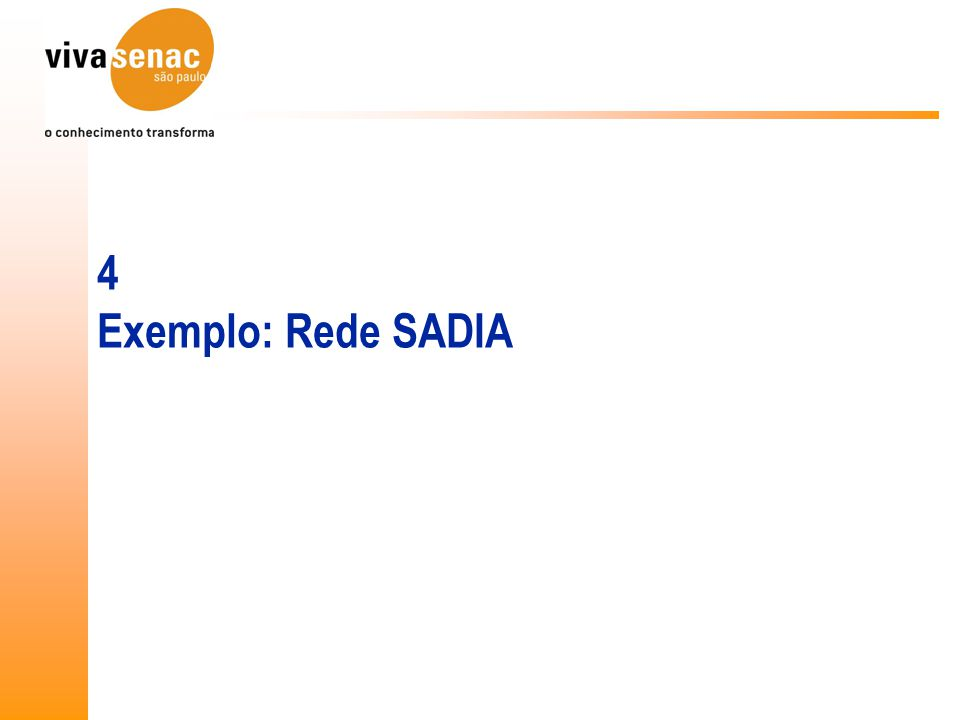 4 Exemplo: Rede SADIA