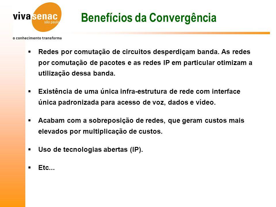 Benefícios da Convergência