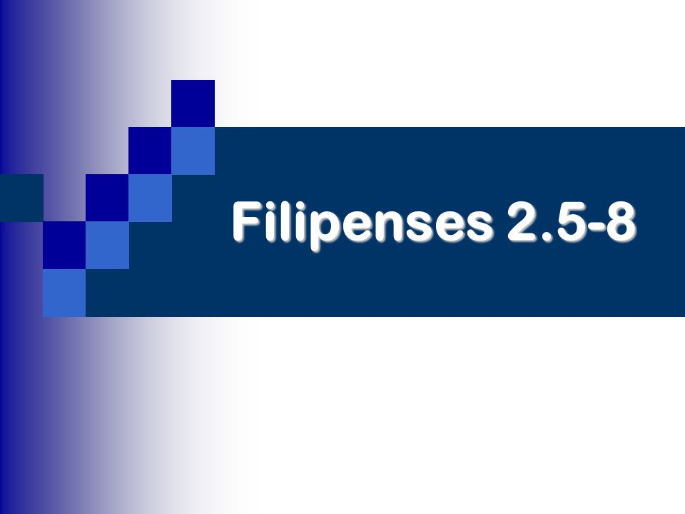 Filipenses 2.5-8