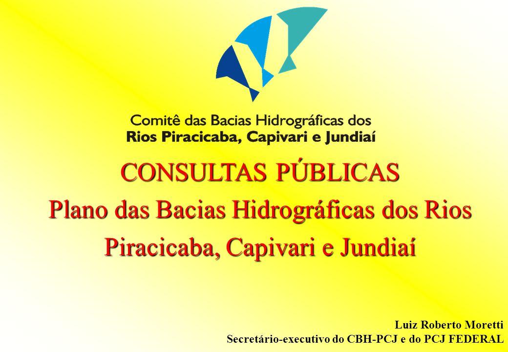 Plano das Bacias Hidrográficas dos Rios Piracicaba, Capivari e Jundiaí