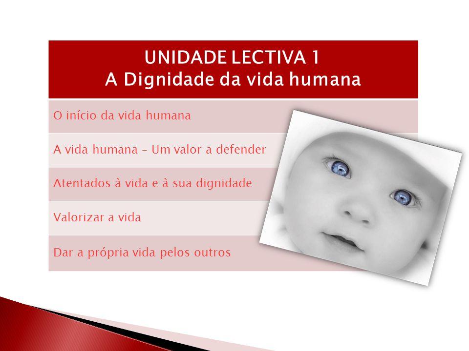 A Dignidade da vida humana