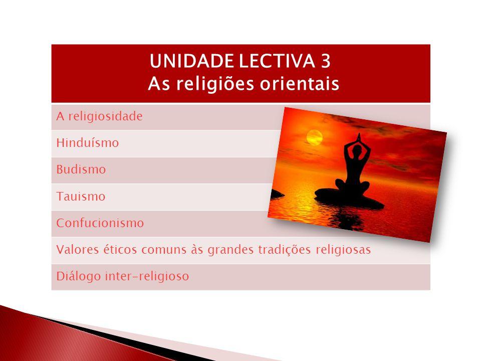 As religiões orientais