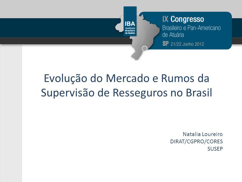 Evolução do Mercado e Rumos da Supervisão de Resseguros no Brasil